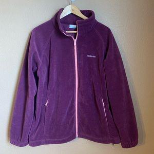 Columbia Fleece Jacket EUC